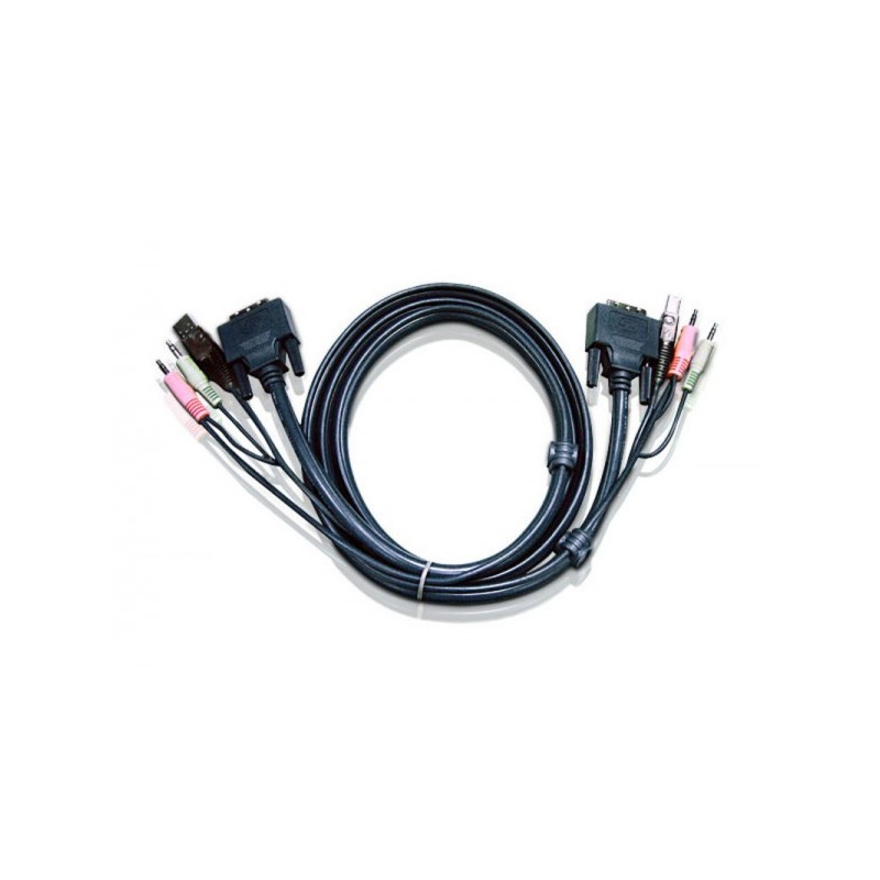 Aten 2L-7D02UD keyboard video mouse (KVM) cable