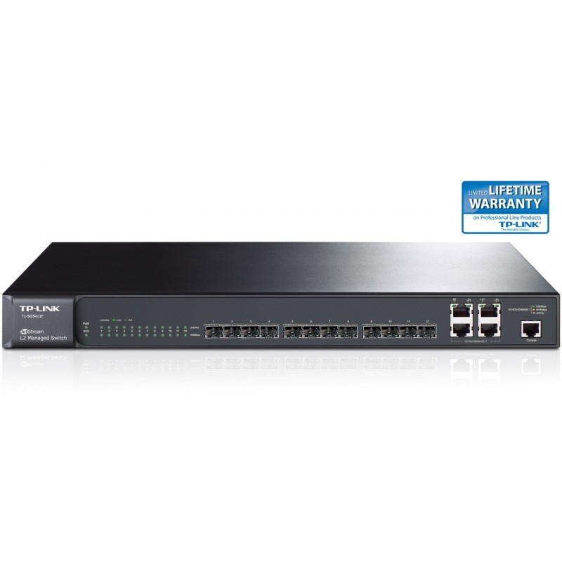 TP-LINK TL-SG5412F 12-Port Gigabit SFP L2 Managed Switch