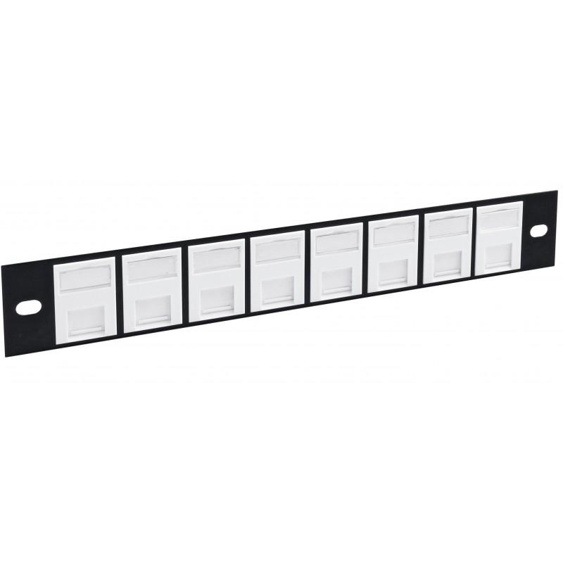 "8 Port Cat5e Shielded FTP 10"" Patch Panel"