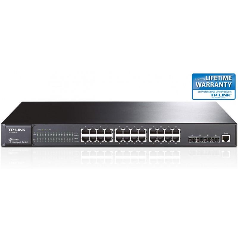 TP-LINK TL-SG5428 24-Port Gigabit L2 Managed Switch