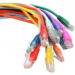 Cat5e UTP RJ45 Booted PVC Patch Lead