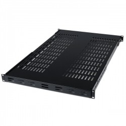 700mm 1u Universal Adjustable Depth Rack Shelf