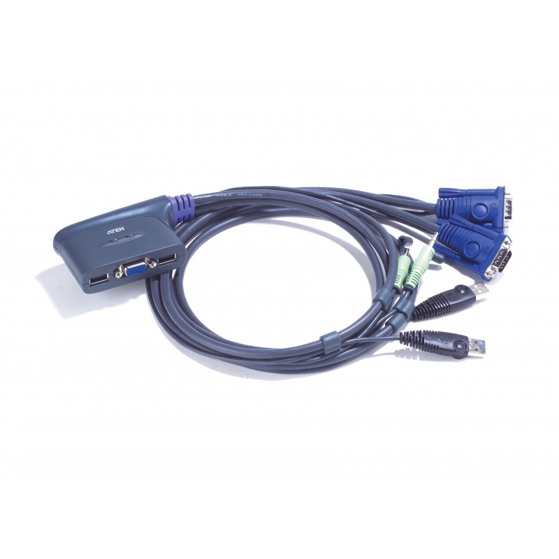 Aten CS62U 2-Port USB KVM Switch
