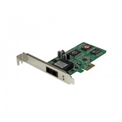 StarTech.com PCI Express (PCIe) Gigabit Ethernet Multimode SC Fiber Network Card Adapter NIC - 550m