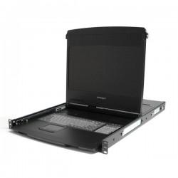 "StarTech 1U 17"" HD 1080p Dual Rail Rackmount Widescreen LCD"