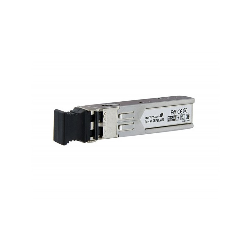 StarTech.com Gigabit Multi Mode SFP Fiber Optical Transceiver - Mini GBIC - 850 nm - LC - 550m