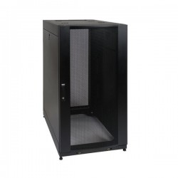 Tripp Lite 25U SmartRack Stand-Depth Rack Enclosure Cabinet with doors/side panels & shock pallet shipping