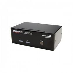 StarTech.com 2 Port Dual DVI USB KVM Switch with Audio & USB 2.0 Hub