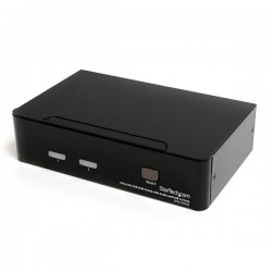 StarTech.com 2 Port DVI USB KVM Switch with Audio and USB 2.0 Hub