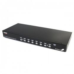 StarTech.com 8 Port 1U Rackmount USB KVM Switch with OSD