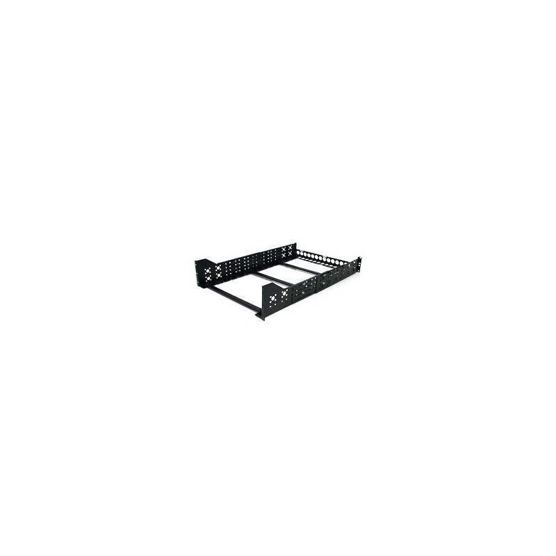 "StarTech.com 3U Fixed 19"" Adjustable Depth Universal Server Rack Rails"