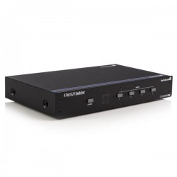 StarTech.com 4 Port VGA Video Audio Switch with RS232 control