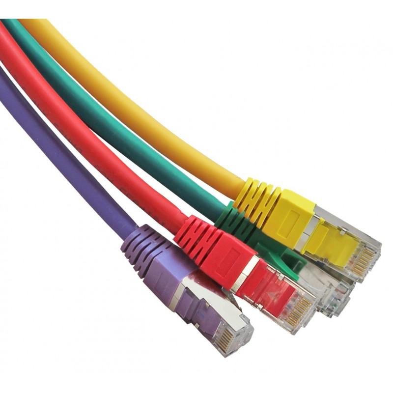 Cat6a (S/FTP) RJ45 Patch Cables