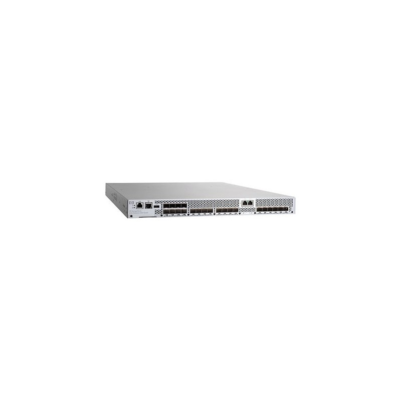 HP 1606 FCIP 16-pt Enabled 8Gb FC 6-pt Enabled 1GbE Power Pack+ Switch