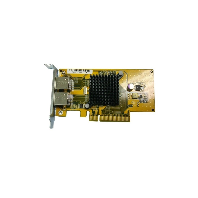 QNAP LAN-1G2T-U network card & adapter