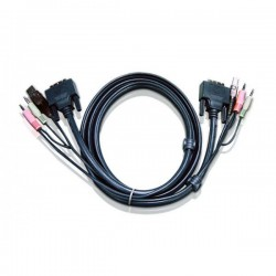 Aten 6ft USB DVI-I Single Link