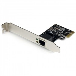 StarTech.com 1 Port PCI Express PCIe Gigabit Network Server Adapter NIC Card - Dual Profile