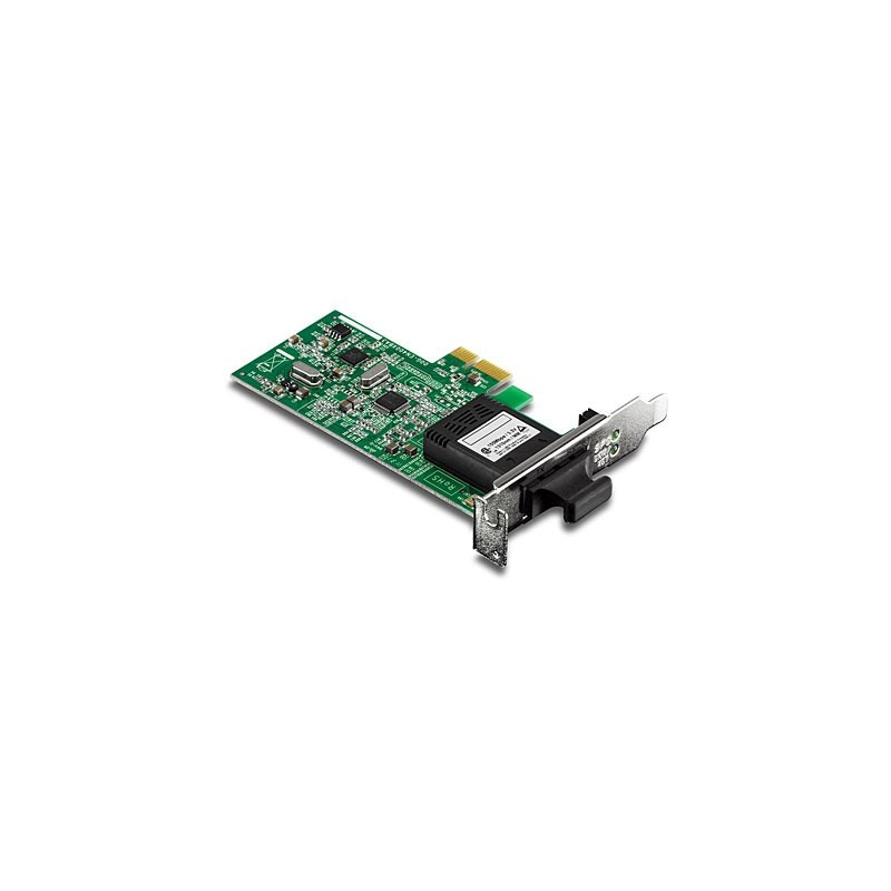 Trendnet TE100-ECFXL Low Profile 100Base SC Fiber PCIe Adapter
