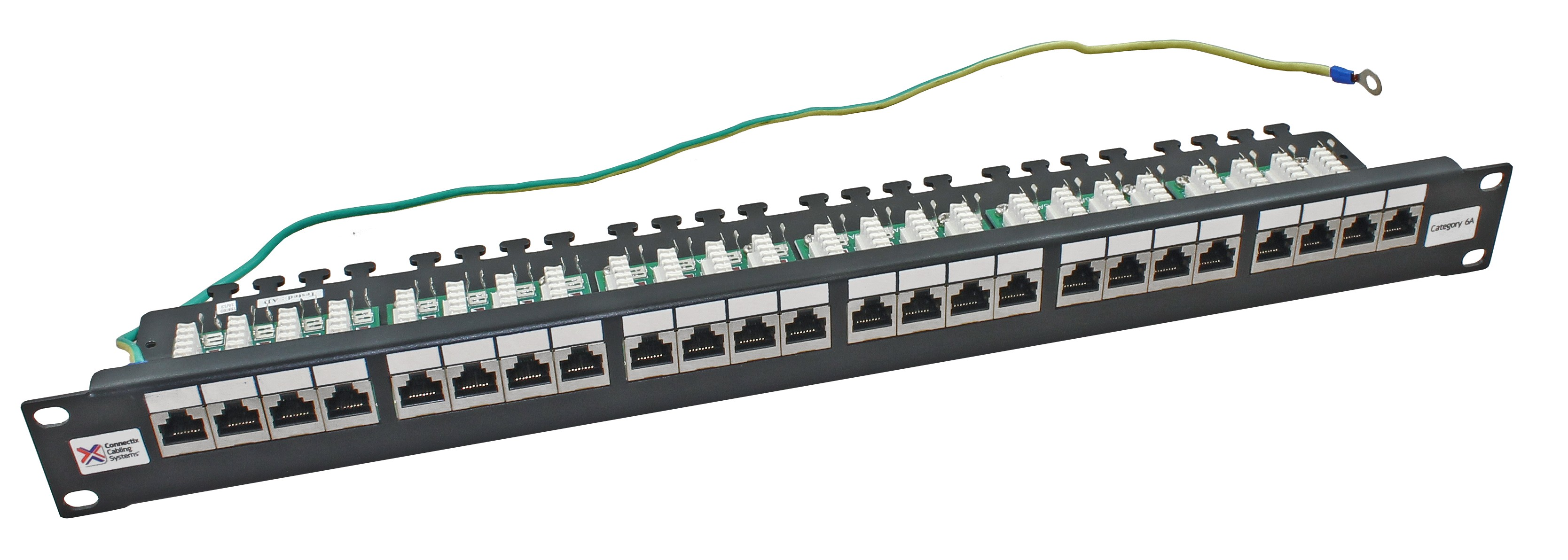 Patch Panels Structured Networking From Cable Monkey Rj45 Panel Wiring