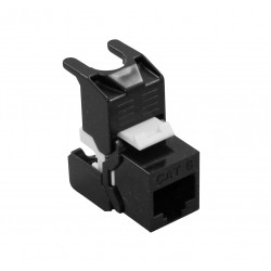 UTP Tool-Less Keystone Module - black