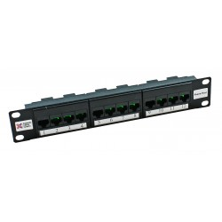 "3 x 4 way 10"" Telephone Host Patch Panel"