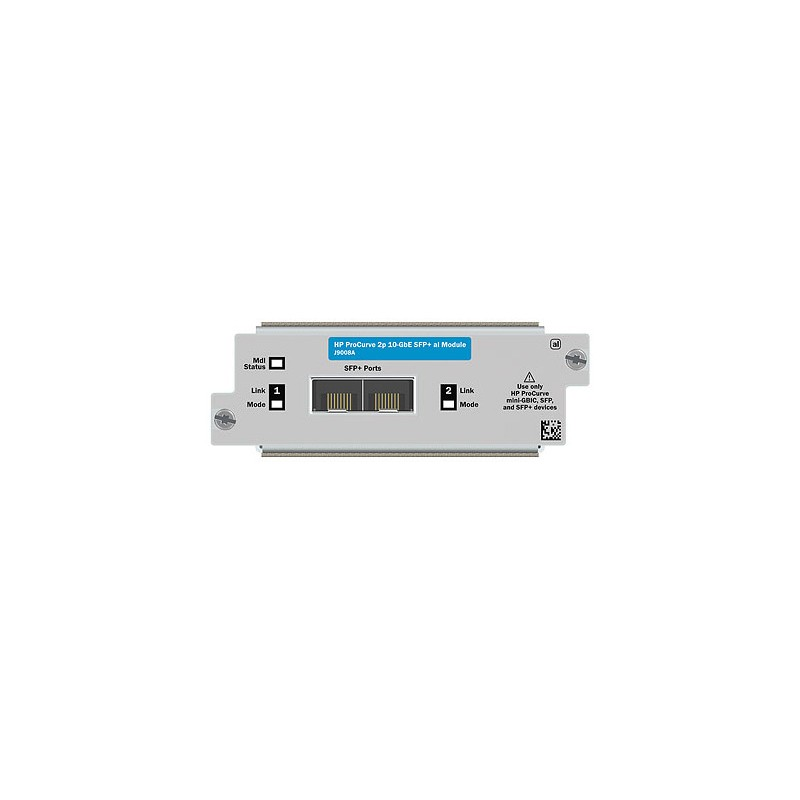 HP  2p 10-GbE SFP+ A5500/E4800/E4500 Module