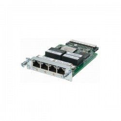 Cisco 4-Port T1/E1 Clear Channel High-Speed WAN Interface Card