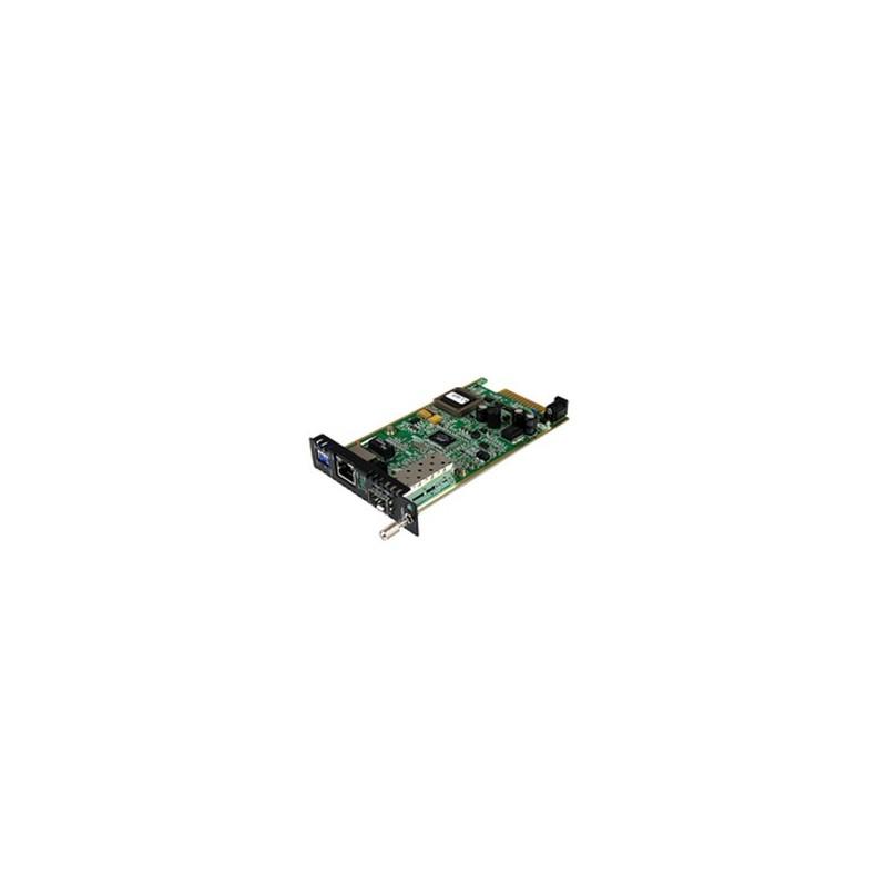 StarTech.com Gigabit Ethernet Fiber Media Converter Card Module with Open SFP Slot