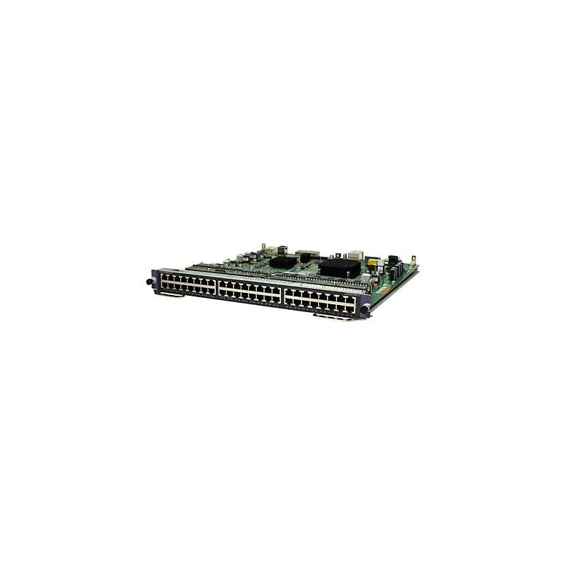 HP 7500 48-port 1000BASE-T PoE+ SC Module