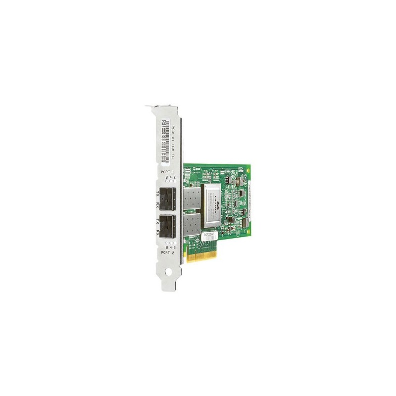 HP PCI Express 2-port 8Gb Fibre Channel SR (QLogic) Adapter