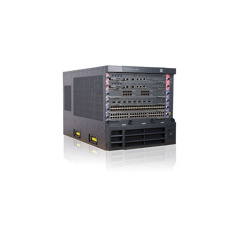 HP 12504 AC Switch Chassis