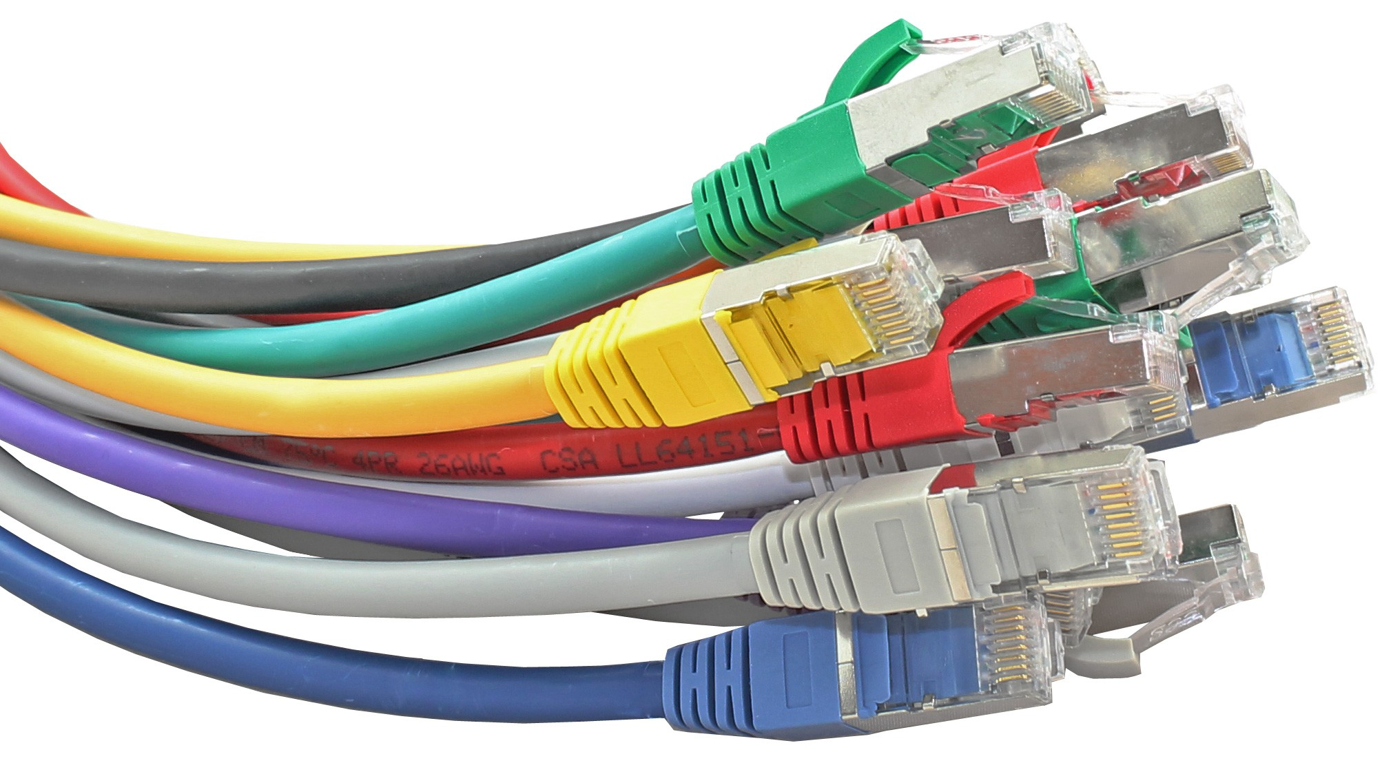 Cat6 Ethernet Cables Cat5e Wiring On Home 30m Patch Cable Grey