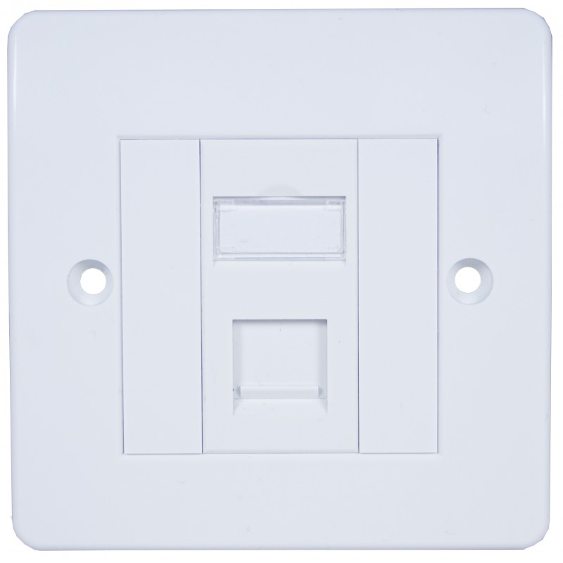 cat5e ftp rj45 modules with faceplate cat5e modules and wall outlets