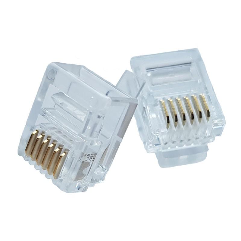 RJ12 Modular Plug - Pack of 50