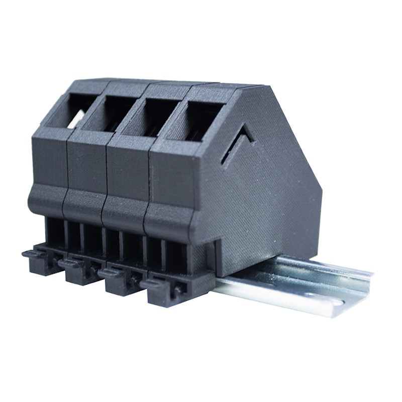 Din Rail Mounted Keystone Size Modular Outlet