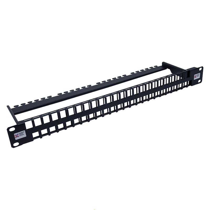 48 Way Unloaded UTP Keystone Patch Panel