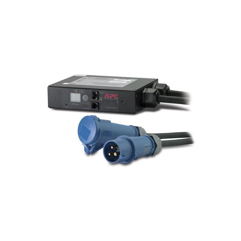APC In-Line Current Meter 16A 230V IEC309-16A 2P+G