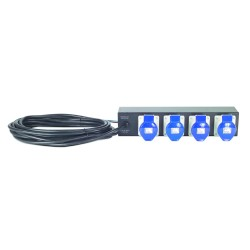 APC Rack PDU Extender, Basic, 2U, 32A, 230V, (4) IEC 309-32