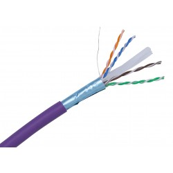 Cat6 FTP Shielded LSOH Solid Core Cable