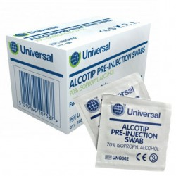 Pre-Moistened Alcohol Swabs