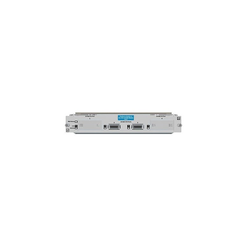 HP 10GbE 2-port X2 / 2-port CX4 yl Module