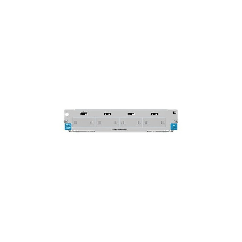 HP 4-port 10GbE X2 zl Module