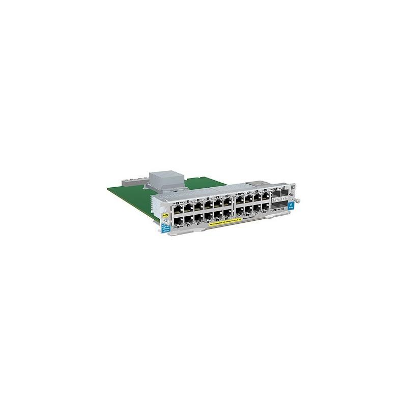 HP 20-port 10/100/1000 PoE+ / 4-port MiniGBIC zl Module