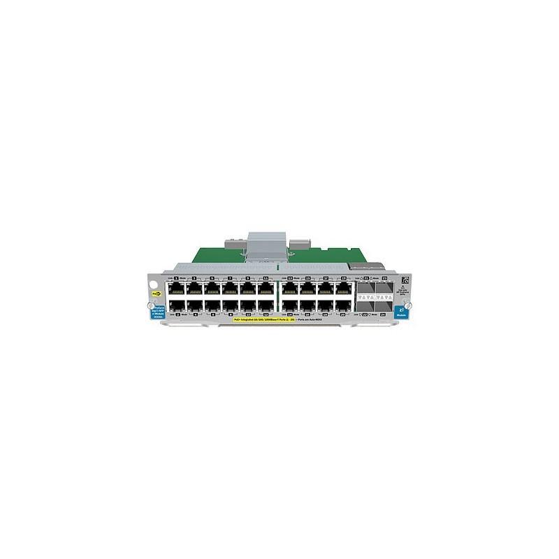 HP 20-port Gig-T PoE+ / 2-port 10-GbE SFP+ v2 zl Module