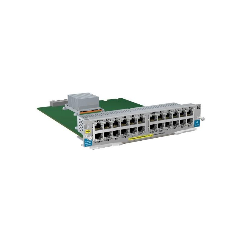 HP  24-port 10/100 PoE+ v2 zl Module