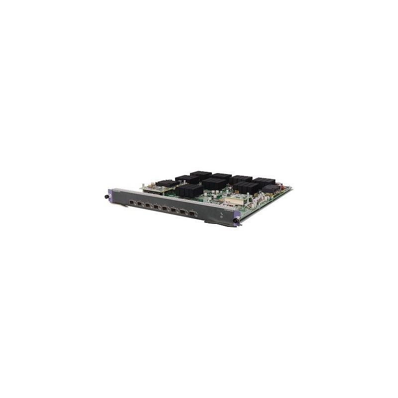 HP 12500 8-port 10GbE SFP+ LEB Module