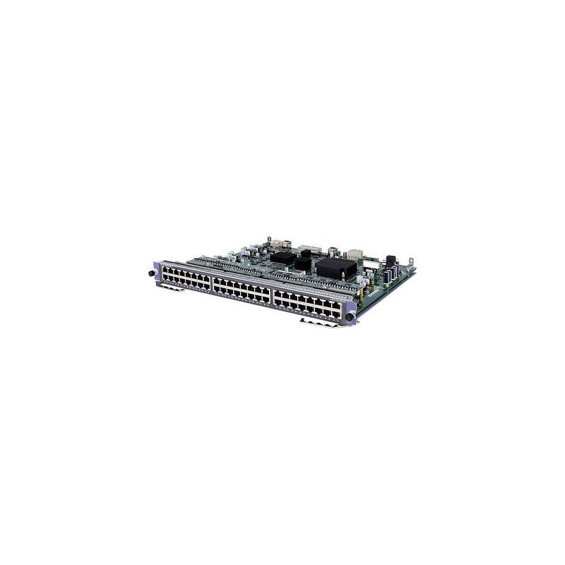 HP A7500 48-port Gig-T PoE+ SD Module
