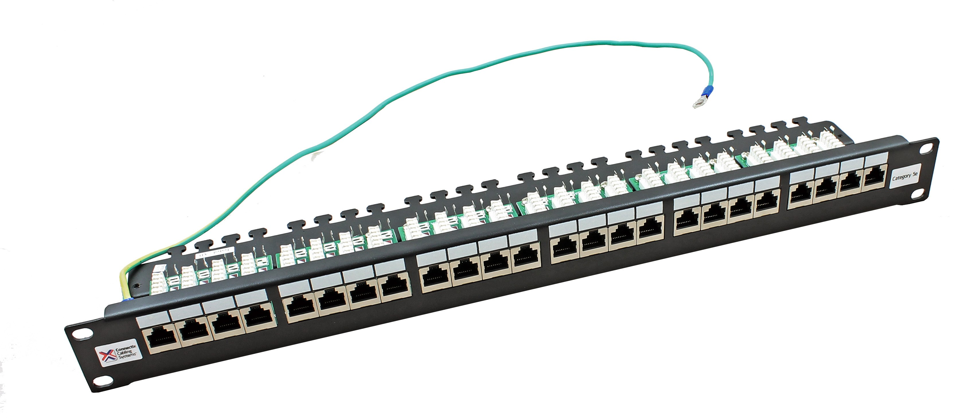 Patch Panels Structured Networking From Cable Monkey Wiring Panel Wall