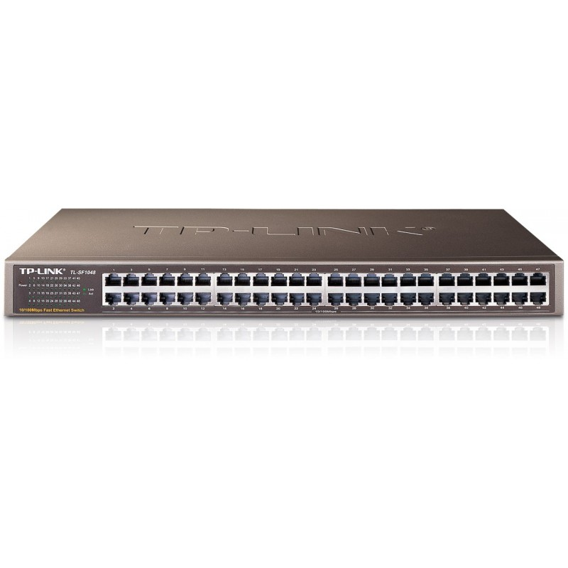 TP-LINK TL-SF1048 48-Port 10/100Mbps Rackmount Switch
