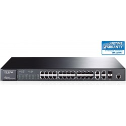 TP-LINK 24-Port 10/100Mbps + 4-Port Gigabit L2 Fully Managed Switch